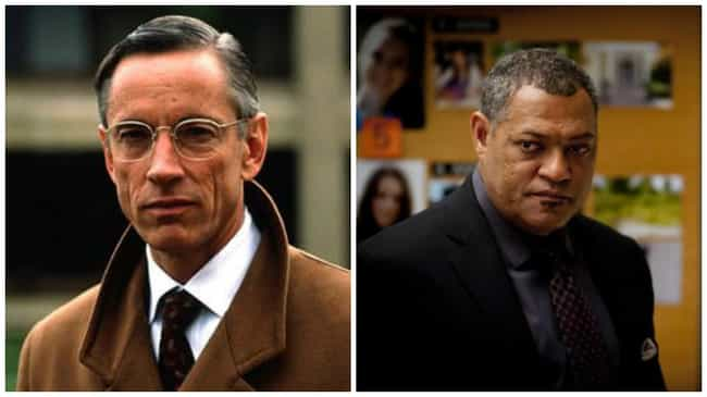 Laurence Fishburne as Jack Cra... is listed (or ranked) 27 on the list Black Actors Who Played White Characters