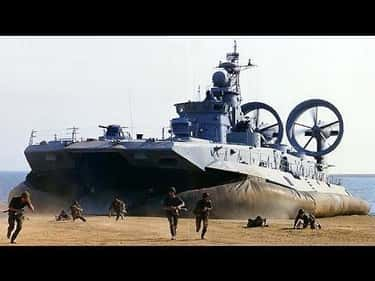They're Buying Huge Hoverc is listed (or ranked) 6 on the list Frightening Facts About the Chinese Military
