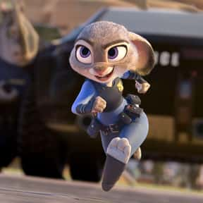 Officer Judy Hopps is listed (or ranked) 2 on the list The Greatest Rabbit Characters of All Time