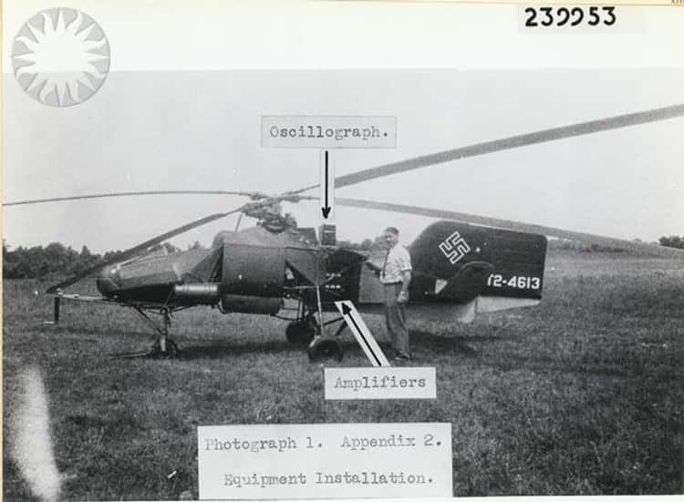 The World's First Mass-Produced Helicopter