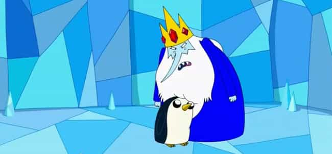 The Ice King Is Sufferin... is listed (or ranked) 2 on the list Insane Fan Theories About Adventure Time