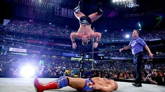 Brock Lesnar vs. Kurt Angle is listed (or ranked) 1 on the list The Best Brock Lesnar Matches on the WWE Network