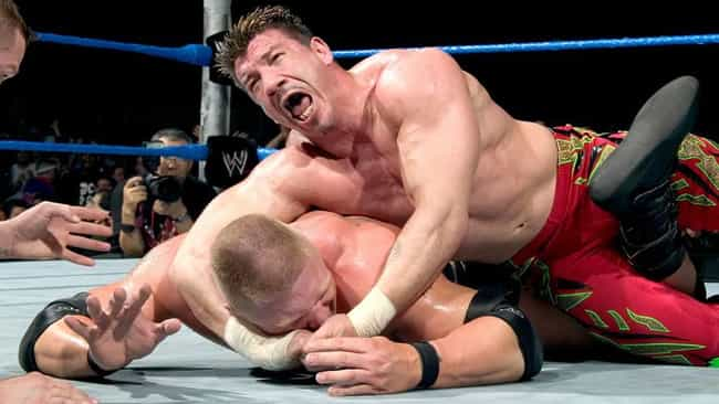 Brock Lesnar vs. Eddie Guerrer... is listed (or ranked) 3 on the list The Best Brock Lesnar Matches on the WWE Network