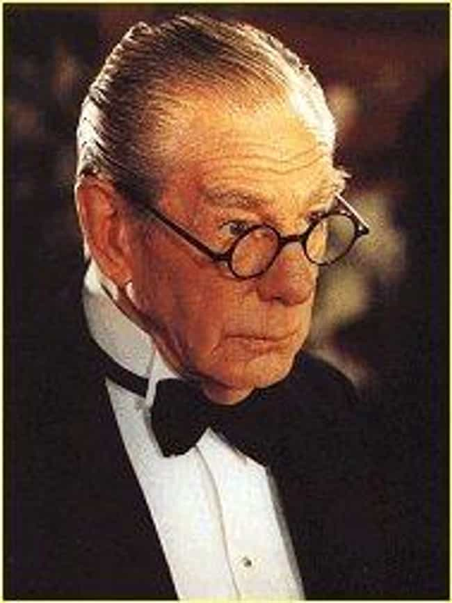 Michael Gough in the '80... is listed (or ranked) 3 on the list The Best Versions of Alfred in Batman History