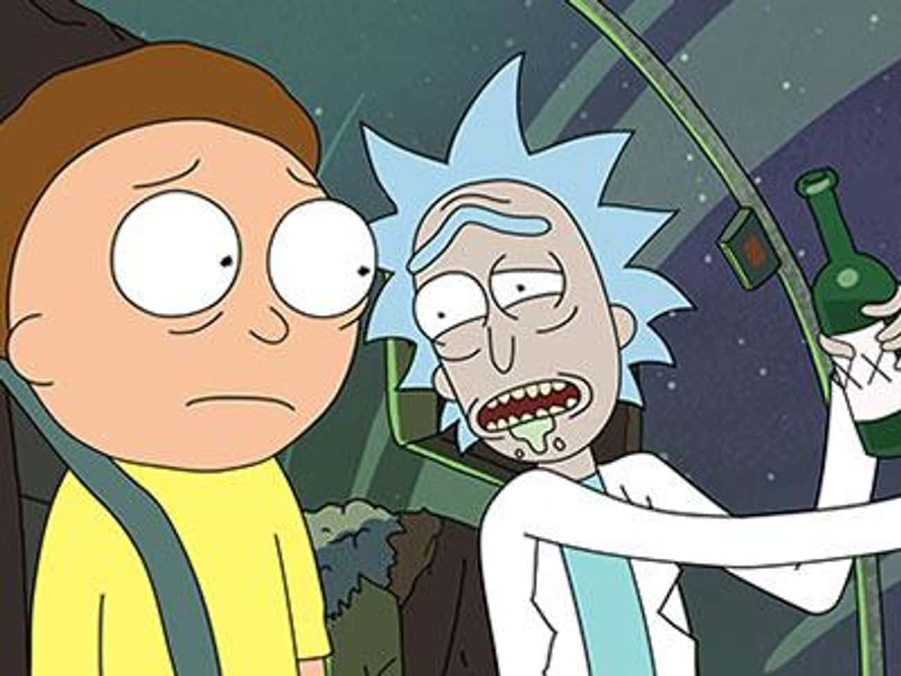 Rick Hasn't Always Been wi is listed (or ranked) 2 on the list These 16 Rick and Morty Fan Theories Will Blow Your Mind