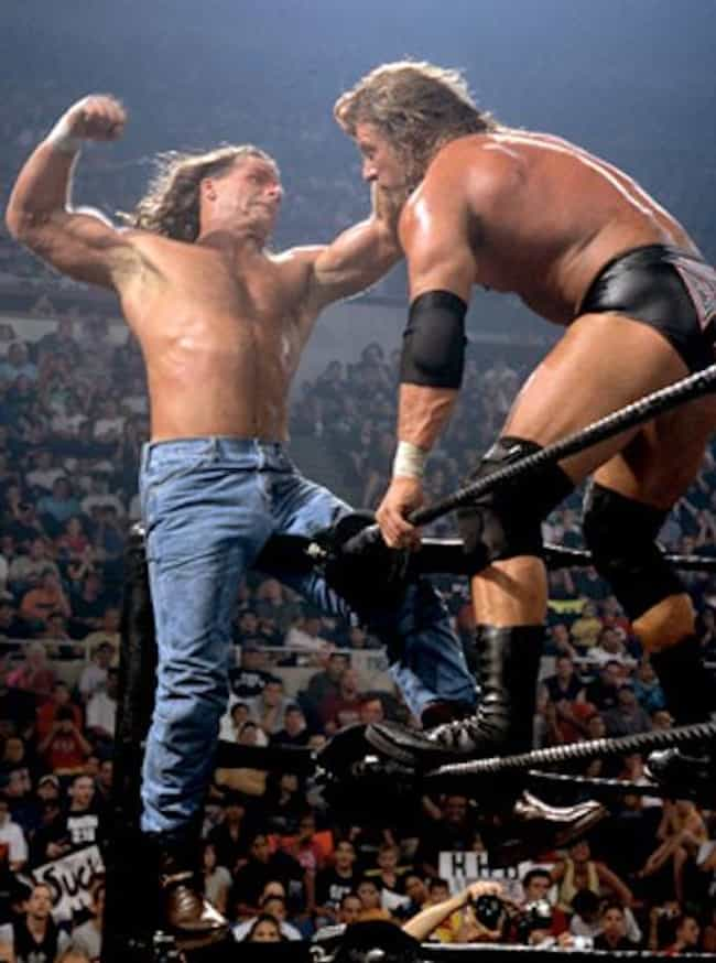 Triple H vs. Shawn Micha... is listed (or ranked) 2 on the list The Best Triple H Matches on the WWE Network