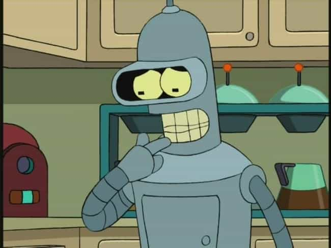 Bender from Futurama Isn't a C... is listed (or ranked) 3 on the list Insane Fan Theories About '90s Sitcoms