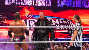 Triple H vs. The Undertaker, H is listed (or ranked) 2 on the list The Best Triple H Matches on the WWE Network