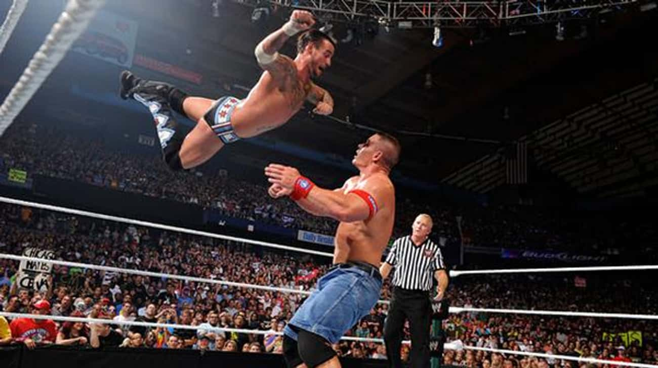 John Cena vs. CM Punk is listed (or ranked) 1 on the list The Best John Cena Matches on the WWE Network
