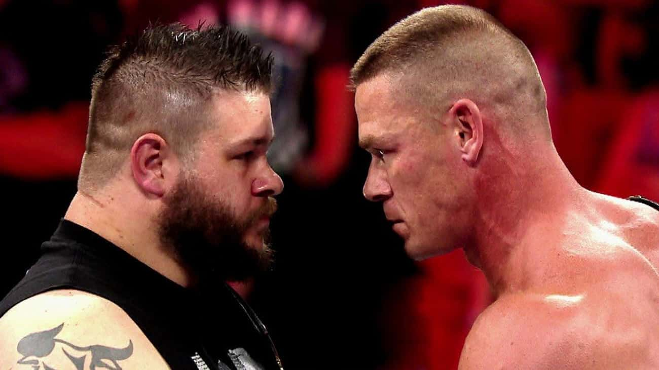 John Cena vs. Kevin Owens is listed (or ranked) 3 on the list The Best John Cena Matches on the WWE Network