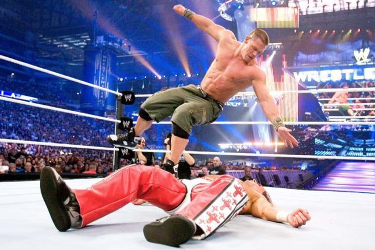 John Cena vs. Shawn Michaels is listed (or ranked) 2 on the list The Best John Cena Matches on the WWE Network