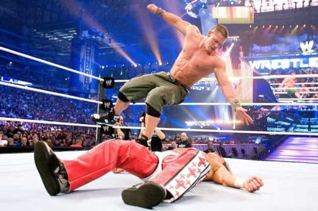 John Cena vs. Shawn Mich... is listed (or ranked) 2 on the list The Best John Cena Matches on the WWE Network