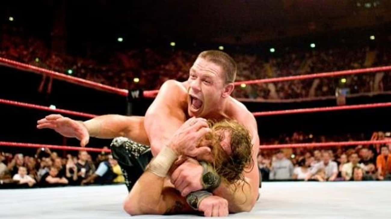 John Cena vs. Shawn Michaels is listed (or ranked) 4 on the list The Best John Cena Matches on the WWE Network