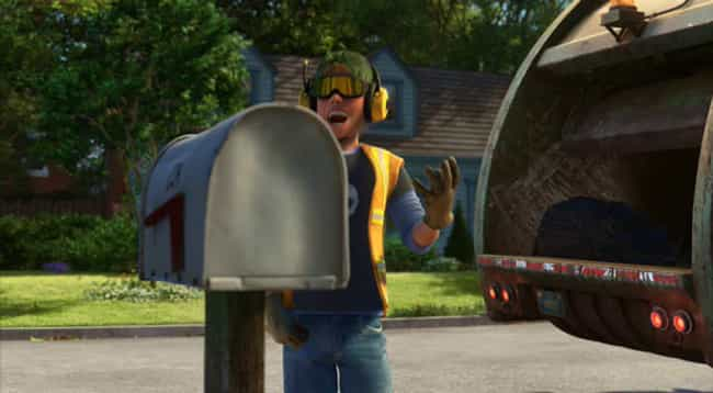 Sid Became A Garbage Man To Sa... is listed (or ranked) 1 on the list Crazy Good Fan Theories About Toy Story