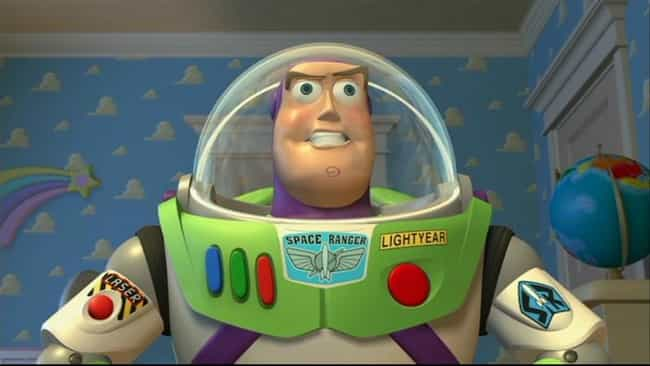 Buzz Was Trained To Be A Toy B... is listed (or ranked) 3 on the list Crazy Good Fan Theories About Toy Story