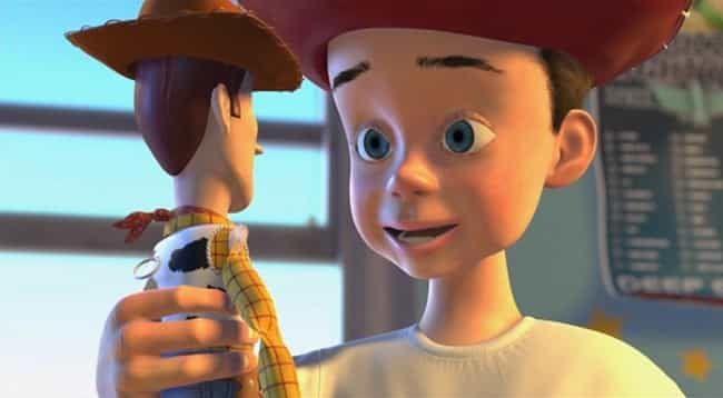 The Toys Helped Andy Get Over ... is listed (or ranked) 4 on the list Crazy Good Fan Theories About Toy Story