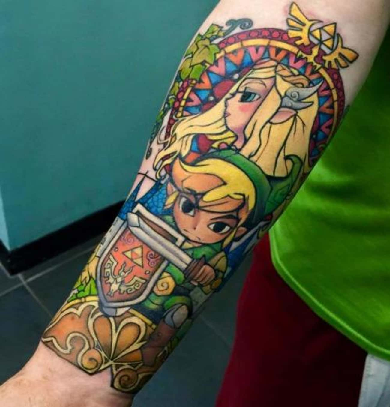 Bold and Beautiful is listed (or ranked) 2 on the list Tattoos Inspired by the Legend of Zelda