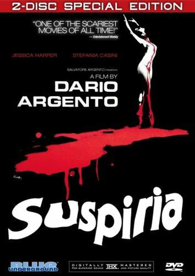 Suspiria is listed (or ranked) 3 on the list The 10 Best Art-Horror Films to Start With