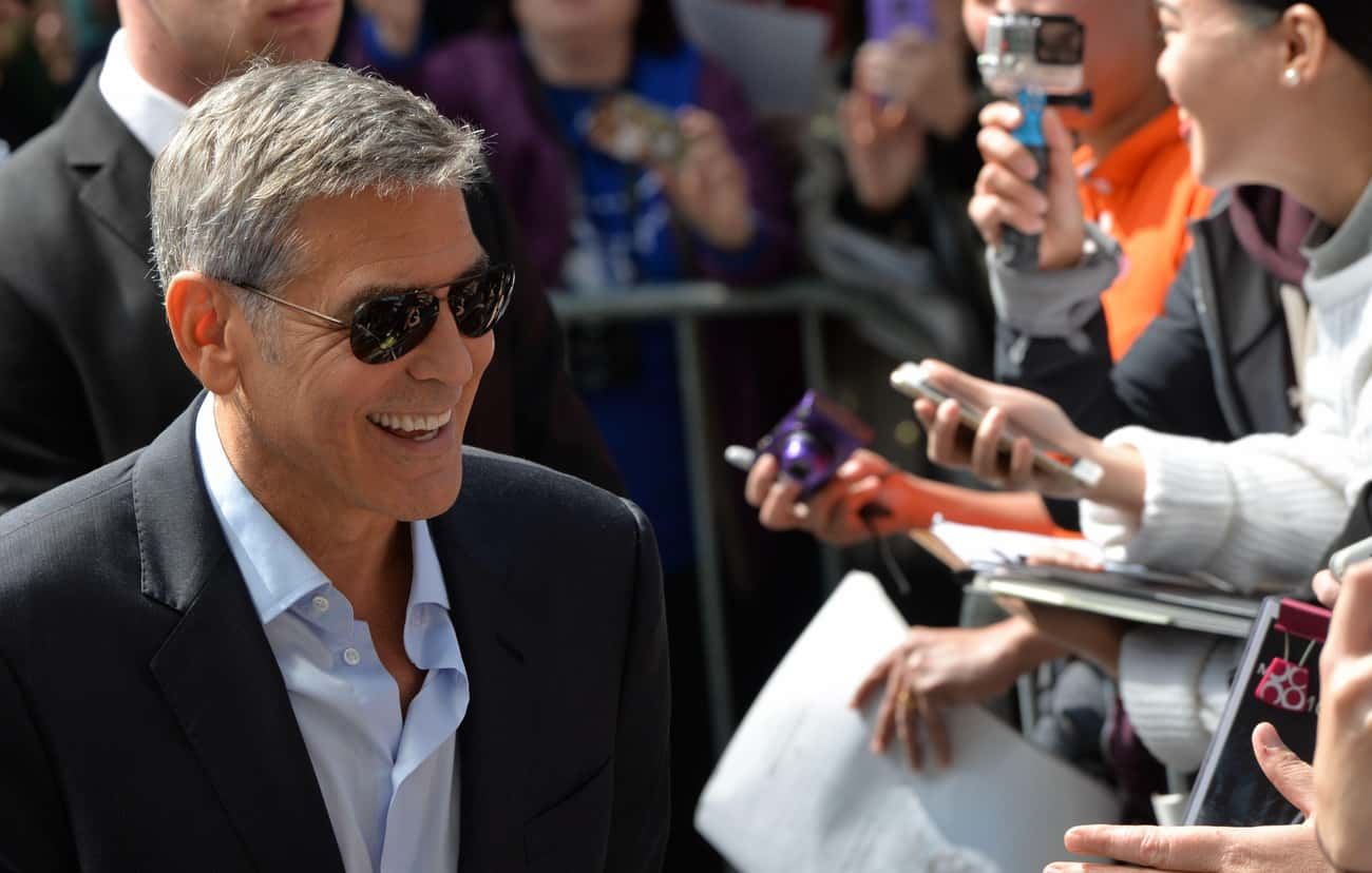 He Shut Down Gay Rumors With T is listed (or ranked) 3 on the list TMI Facts About George Clooney's Sex Life