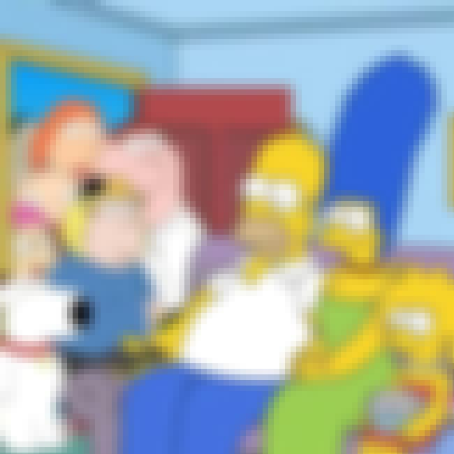 The Simpsons and Family Guy is listed (or ranked) 3 on the list TV Shows That Could Actually Exist in the Same Universe