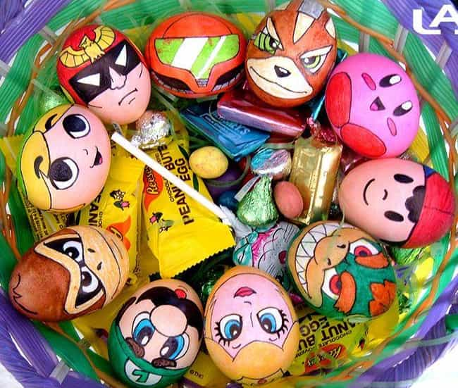 These Classic Nintendo T... is listed (or ranked) 2 on the list Cool Easter Egg Ideas You'll Wish You Thought Of