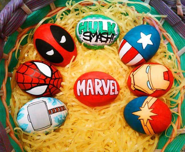 These Magnificent Marvel... is listed (or ranked) 3 on the list Cool Easter Egg Ideas You'll Wish You Thought Of