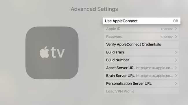 The Secret Apple TV Advanced S... is listed (or ranked) 2 on the list 18 Cool Things You Didn't Know About Your Apple TV