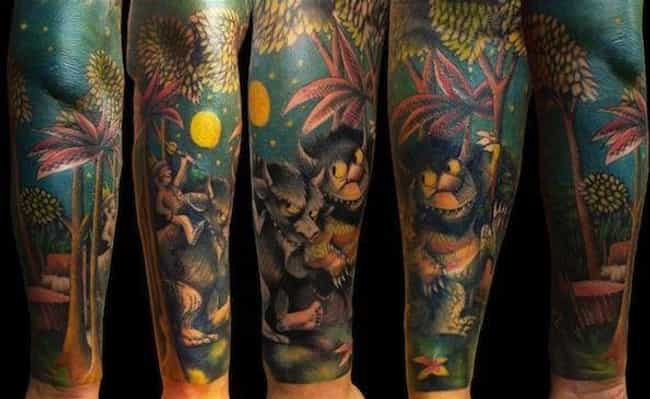 Max Perpetually Rules in... is listed (or ranked) 1 on the list 29 Children's Book Tattoos That're Sure to Inspire Nostalgia