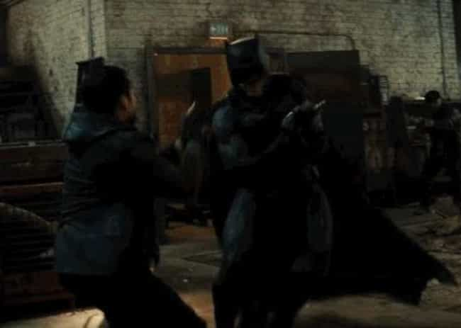 Batman's Brawl is listed (or ranked) 4 on the list The 24 Best Parts of Batman v. Superman, Ranked