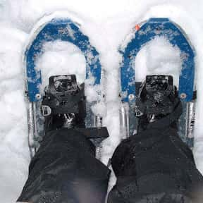 Snowshoeing is listed (or ranked) 16 on the list The Best Snow Sports to Play and Watch