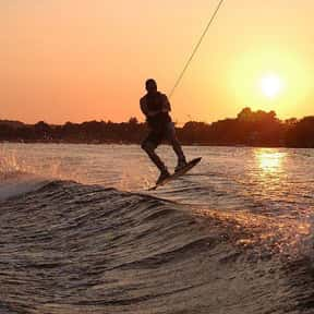 Wakeboarding is listed (or ranked) 3 on the list The Best Water Sports