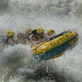 White Water Rafting is listed (or ranked) 5 on the list The Best Water Sports