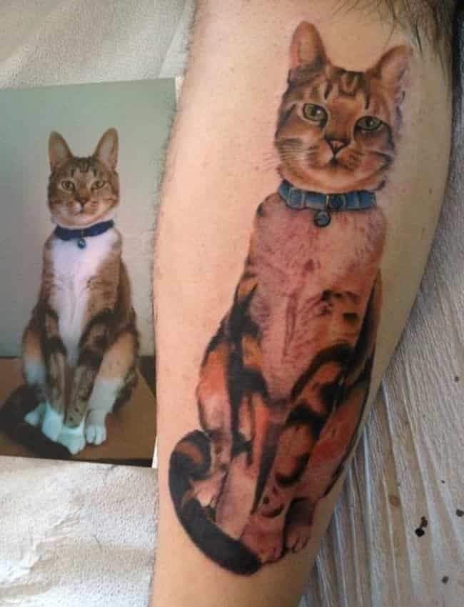 33 People Who Got Tattoos of Their Pet
