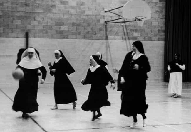 Silly Photos of Nuns Hanging Out and Having Fun