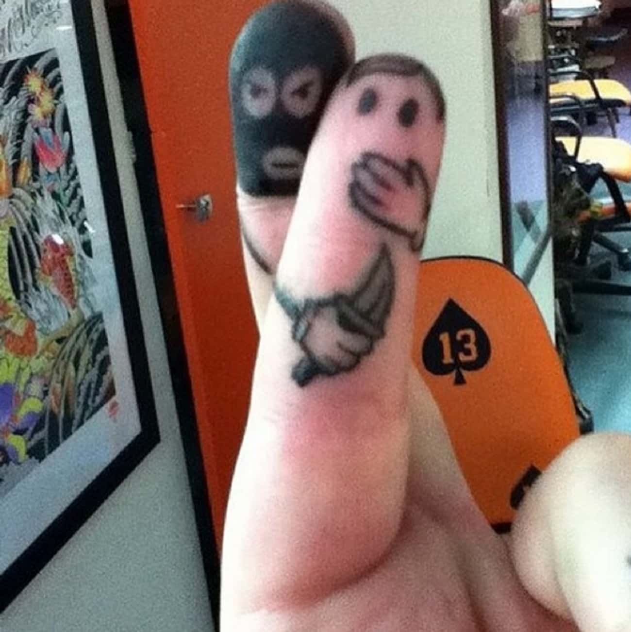 Sh*t Just Got Real is listed (or ranked) 3 on the list 20 Tattoos That Make Hilarious Jokes