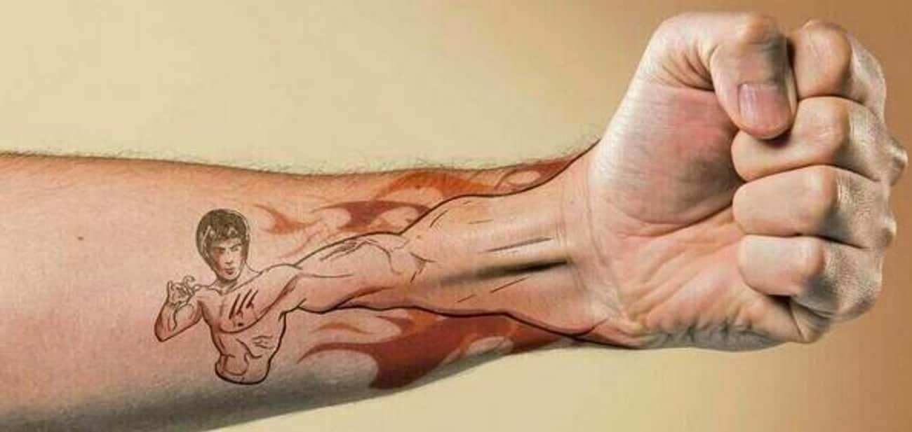 This One Totally Broke the Awe is listed (or ranked) 1 on the list 20 Tattoos That Make Hilarious Jokes