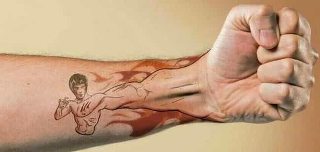 This One Totally Broke the Awe... is listed (or ranked) 2 on the list 25 Tattoos That Make Hilarious Jokes