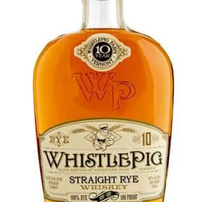 Whistle Pig is listed (or ranked) 10 on the list The Best American Whiskey