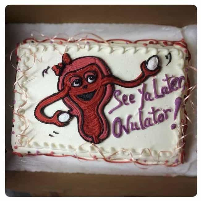 The Fond Farewell is listed (or ranked) 1 on the list 20+ Hilarious and Delicious Vagina Cakes