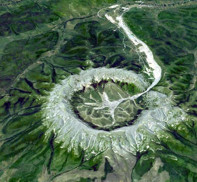 An Intrusion Made by Molten Ma... is listed (or ranked) 3 on the list The Most Beautiful Circles Made by the Earth