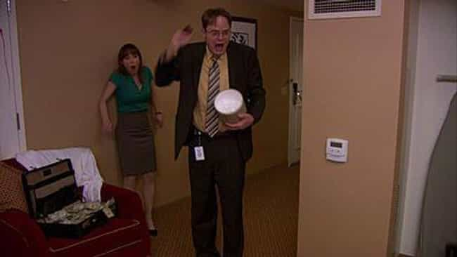 Jim Creates a Fake Murder Scen... is listed (or ranked) 4 on the list The Greatest Pranks Jim Ever Played on Dwight on The Office
