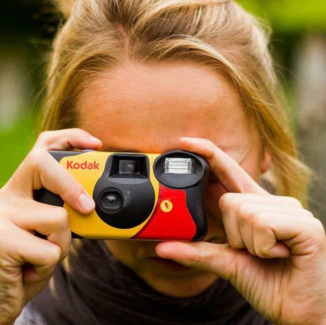 Kodak Disposable Cameras is listed (or ranked) 2 on the list Things We Never Use Now, But Used to Be LIFE in the 2000s