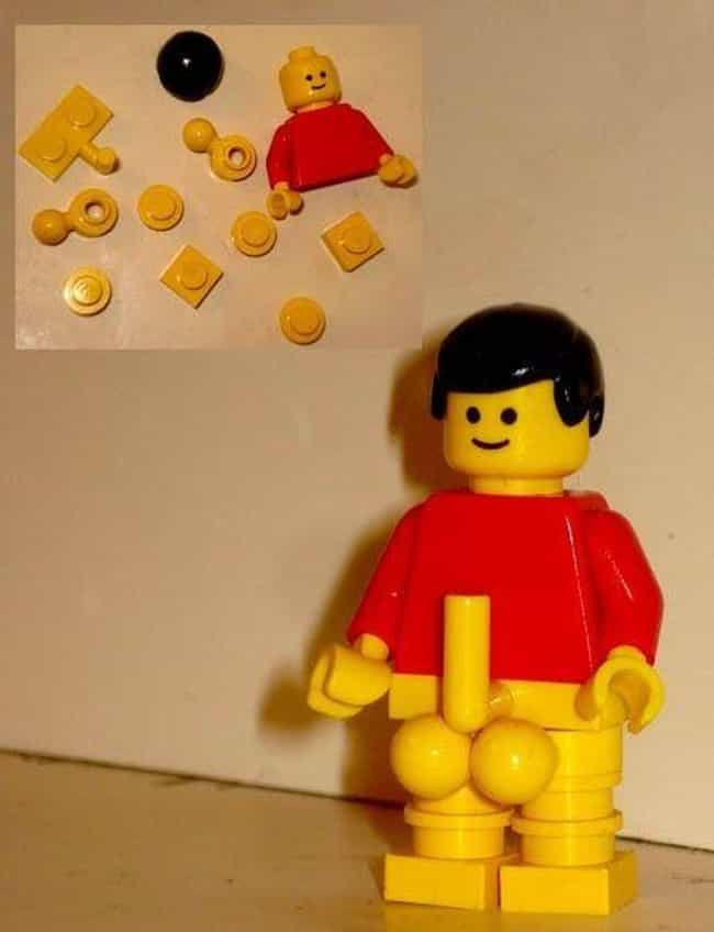 Proportion is Everything is listed (or ranked) 1 on the list 23 Times Adults Played with Legos and Things Got Dirty