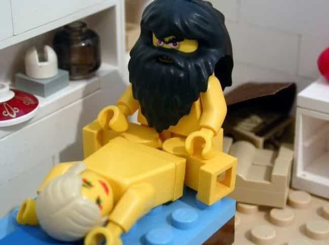 Finally, Lego & Harry Slash Fi... is listed (or ranked) 2 on the list 23 Times Adults Played with Legos and Things Got Dirty