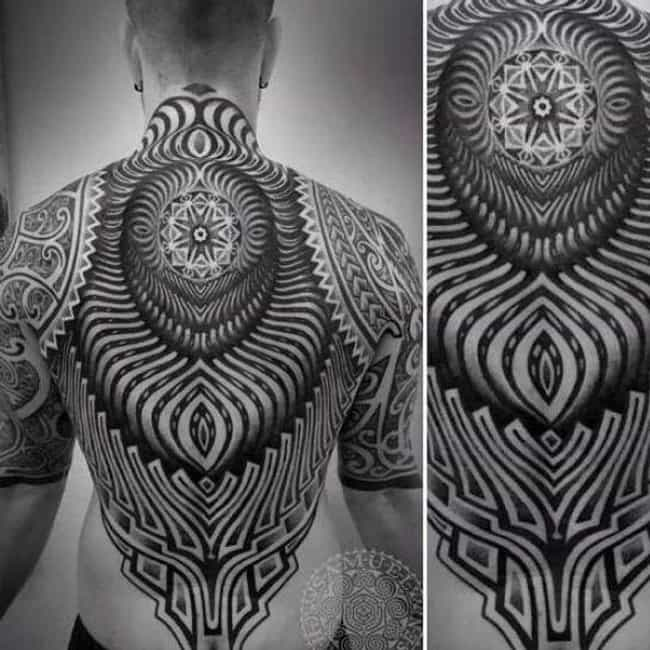 Insane Detail is listed (or ranked) 3 on the list Beautiful Photos of the Newest Trend: Blackout Tattoos