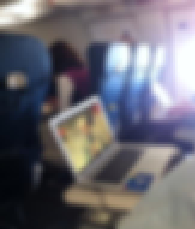 Really Wholesome Material to W... is listed (or ranked) 2 on the list Real Pics of People Being Absolutely Terrible on Planes