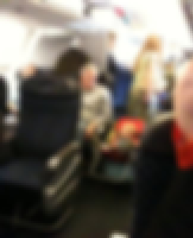 Genius Parenting Hack or Terri... is listed (or ranked) 3 on the list Real Pics of People Being Absolutely Terrible on Planes