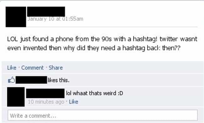 The Funniest Dumb Facebook Posts Ever