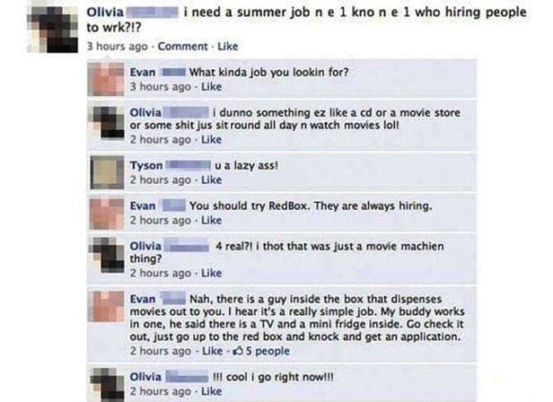 Random Funniest Dumb Facebook Posts