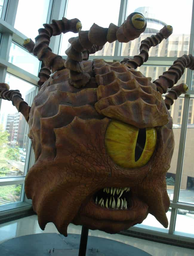 Beholder is listed (or ranked) 3 on the list The Most Monstrous Dungeons & Dragons Monsters